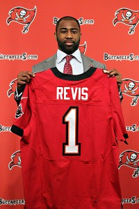 Tampa Bay Buccaneers CB Darrelle Revis | Prominent Tickets
